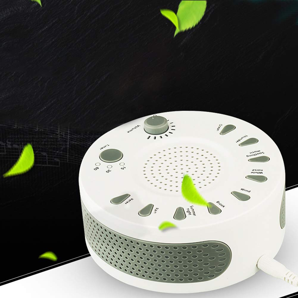 OUYAWEI Portable Timed Shutdown Sleep Sound Machine Noise Meter Improve Sleep Quality by OUYAWEI