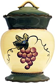Tuscany Garden Collection Ceramic Grape Cookie Jar 84076 by ACK  sc 1 st  Amazon.com & Amazon.com: Colorful Grapes 4 Piece Travel Mug Set: Kitchen u0026 Dining