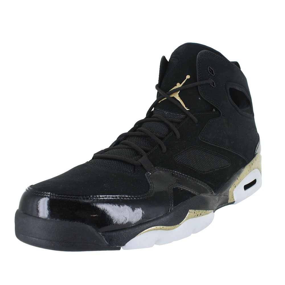 Jordan メンズ B078XNG79Z 7 D(M) US Black Metallic Gold White