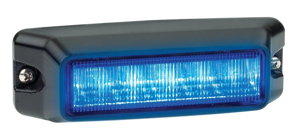 Federal Signal IPX600B-B IMPAXX Led Exterior/Perimeter Light, BLUE LEDs, CLEAR LENS