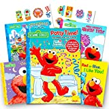 Best Sesame Street Friends Sticker Books - Sesame Street Elmo Potty Training Book Set - Review