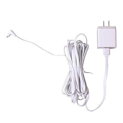 Amazon com: FidgetFidget Power Adapter with 6m/20ft USB