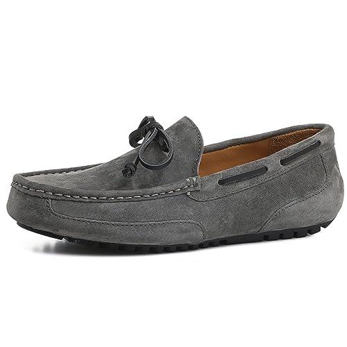 OZZEG - Zapatos de Vestir para Chico Hombre, Color Gris, Talla 39: Amazon.es: Zapatos y complementos