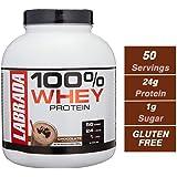 Labrada 100% Whey Protein - 4.13 lbs (1875 g) (Chocolate)