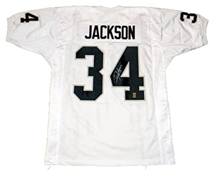 sneakers for cheap 74f62 781b6 Bo Jackson Signed Jersey - Oakland #34 White Gtsm - GTSM ...