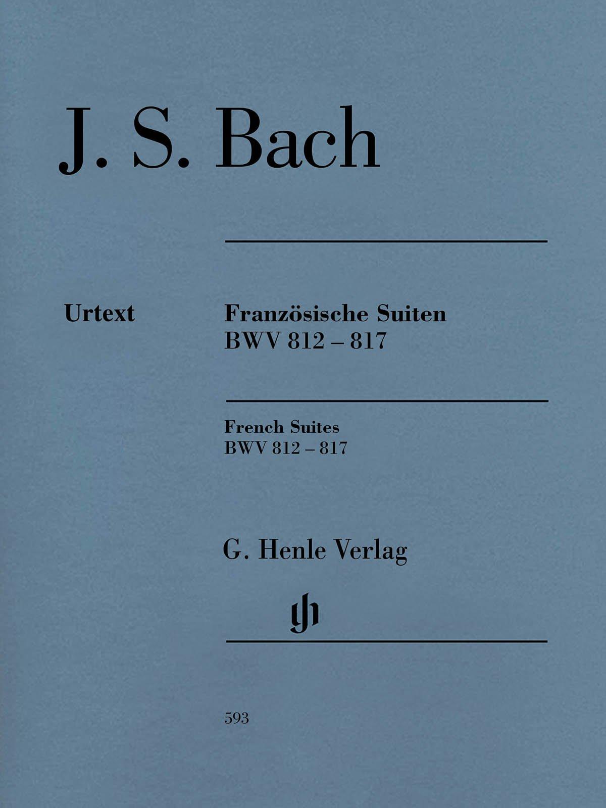 Französische Suiten BWV 812 817 Revidierte Ausgabe