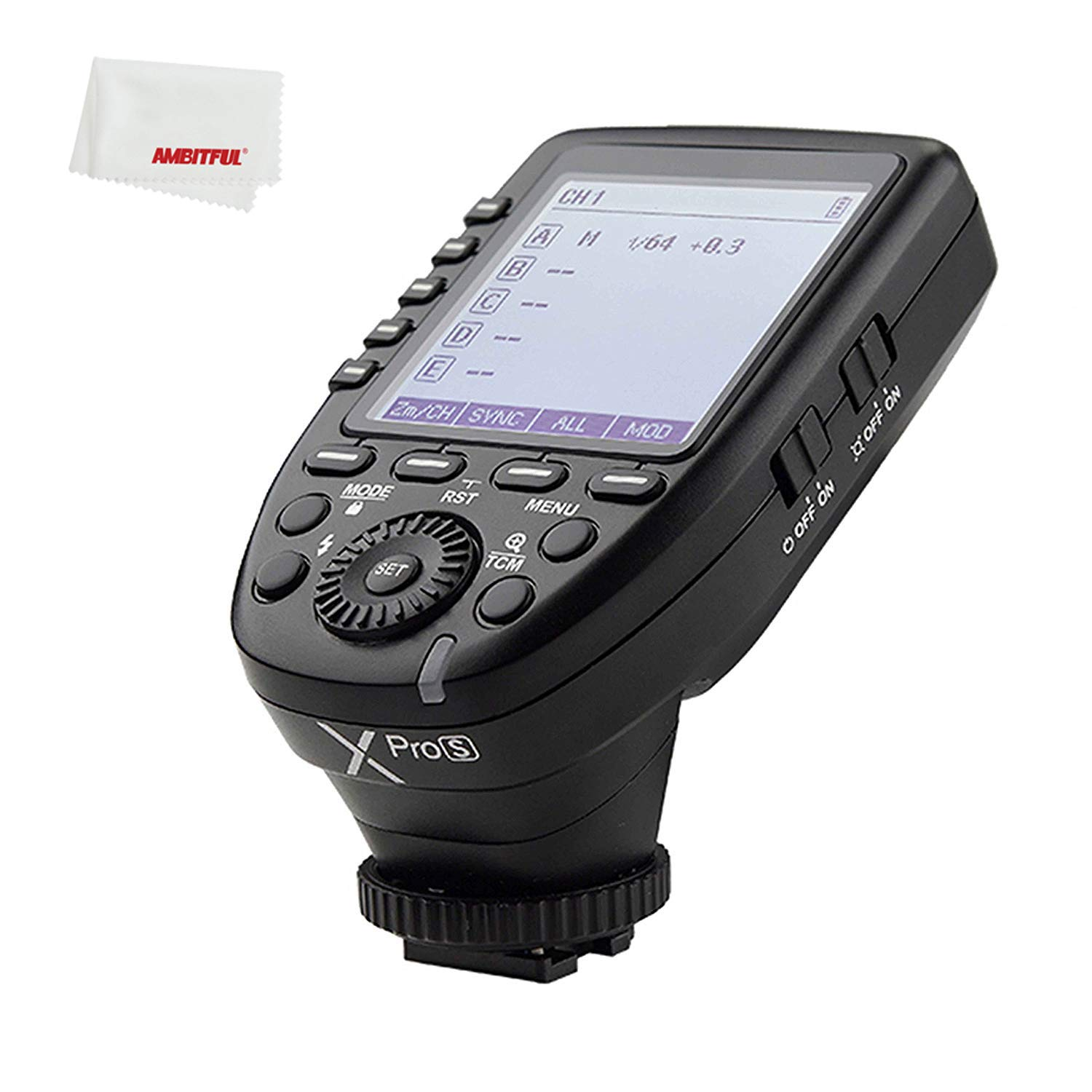 Godox xpro Xpro-S XPros TTL Wireless Flash Trigger 1/8000s 11 Customizable Functions Compatible for Sony Camera Godox TT685S TT350S V860II-S V350S by Godox