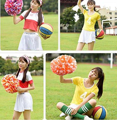 8 Paire 1 Cheerleading Avec 11 Cheer A2 Anneau Plastique En