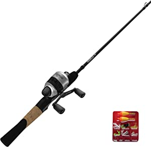 Zebco 33 Micro Spincast Reel and 2-Piece Fishing Rod Combo, 4.5-Foot Rod with Bonus Tackle Pack, QuickSet Anti-Reverse Fishing Reel with Bite Alert