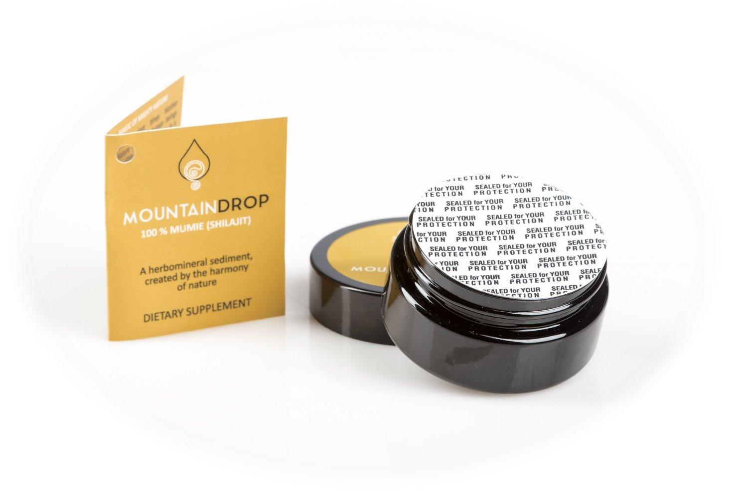 SHILAJIT de alta calidad, 40 g (suministro de 3-5 meses), resina Shilajit natural y pura, suplemento orgánico ayurveda para el bienestar y el yoga (Mumio, ...