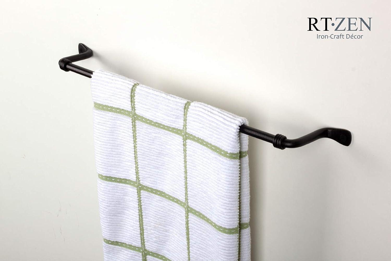 Amazon.com: RTZEN-Décor - Toallero decorativo de hierro ...