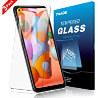 TopACE Screen Protector for Samsung Galaxy A11, Samsung Galaxy A11 Tempered Glass [Scratch Resistant ][Bubble Free][HD][Case Friendly][High Responsivity] with Replacement Warranty (3 Pack)