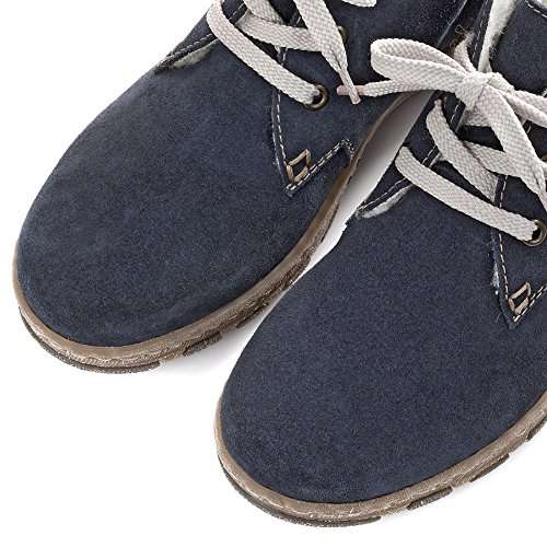 Rieker L0142 Botas para mujer Blau