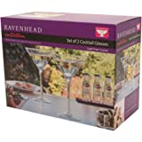 Ravenhead Entertain Cocktail Glasses, Set of 2, Clear