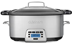 7 qt cuisinart multi-cooker that roasts, slow cooks, sautes, and browns