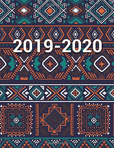 2019-2020: Boho Native Amercian Daily Weekly Monthly Planner ...