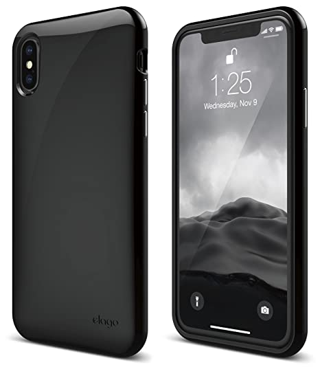 official photos 62fa0 ba366 elago Cushion Series for iPhone Xs case, iPhone X Case [Upgrade Version] -  Anti-Smudge Coat Shock Absorbing TPU Protective Cover for Apple iPhone Xs  ...