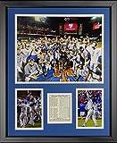 "Legends Never Die MLB Kansas City Royals 2015 World Series Champions Mound Framed Photo Collage, 16"" x 20"""