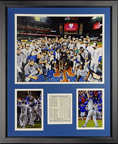 MLB Kansas City Royals 2015 World Series Champions Mound Framed Photo Collage, 16