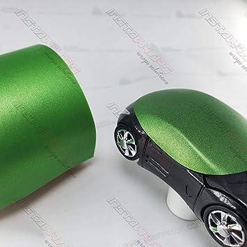 Avery Supreme MATTE GREEN APPLE METALLIC Vinyl Vehicle Car Wrap Trim SW900-745-M