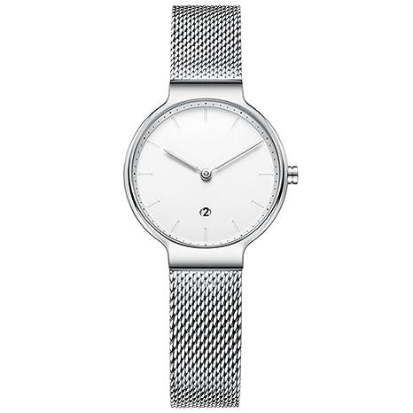 GAOY Watch Relojes Señora Reloj De Moda Impermeable Tendencia Diamantes Brillantes Cuarzo Correas Analógico Los Relojes