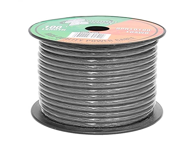 Amazon.com: Pyramid RPB10100 Ground Wire 10-Gauge, 100 Feet ...