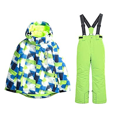 7554db786 Amazon.com  2 pcs Little Girl Kids Children s Waterproof Windproof ...
