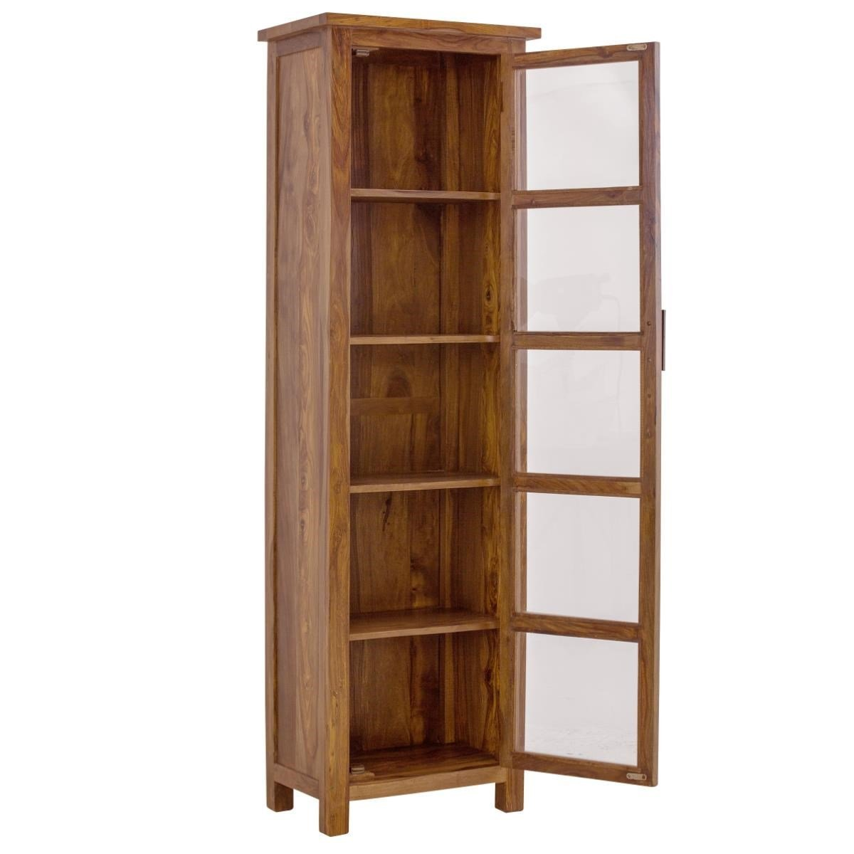Naturehood Tall Cupboard for Living Room Crockery Unit 100