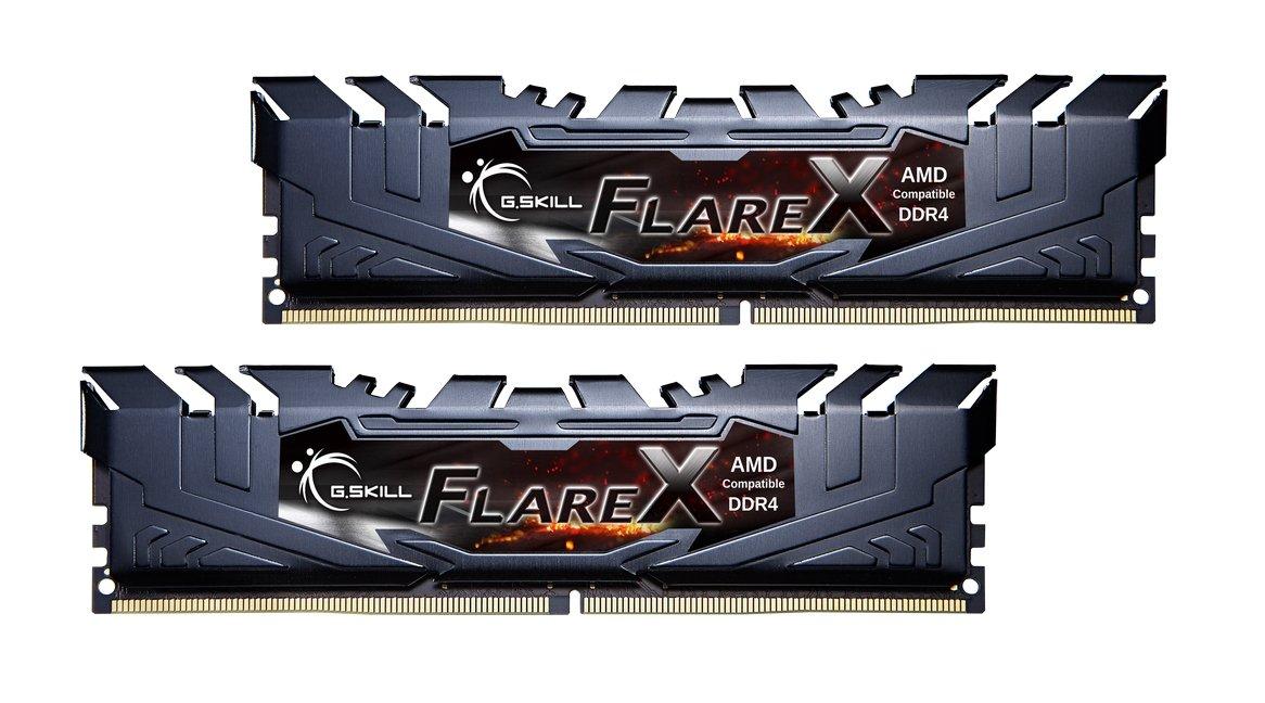 G.SKILL Flare X Series 16GB (2 x 8GB) 288-Pin DDR4 SDRAM DDR4 3200 (PC4 25600) AMD X370 Memory Model F4-3200C14D-16GFX by G.Skill