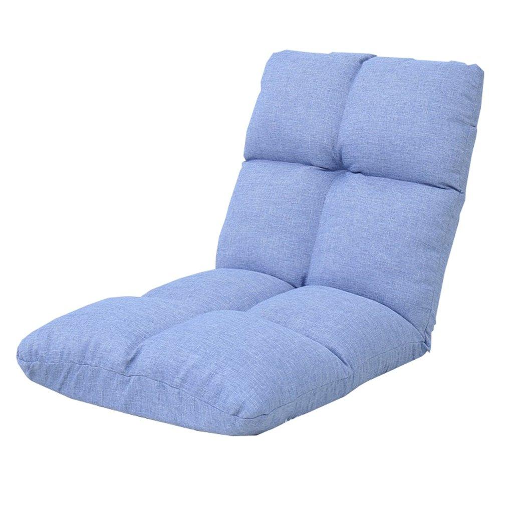 Unbekannt Bodenstuhl Kissen-Liege Für Jugendlich Kinderbaby, Justierbare Tragbare Leinenboden-Stühle