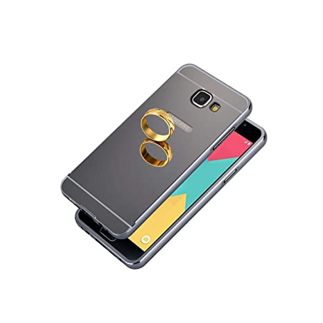 f80d555c9c5 Funda Samsung Galaxy A5 2016, Lincivius® [Espejo Lattice] Fundas Galaxy A5  2016