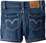 Levi's Kids Baby Girl's Embroidered Shorty Shorts