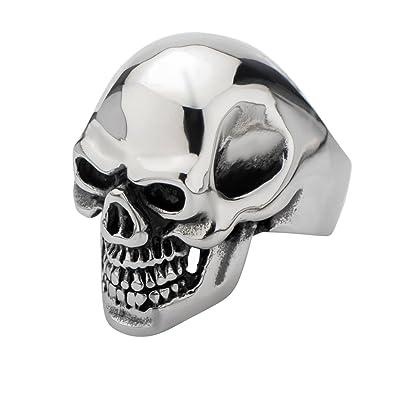 Amazon.com: Grin Reaper grande cráneo grandes dientes de ...