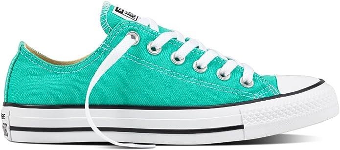 Converse CTAS Ox, Sneakers Homme, Vert (Menta), 36 EU