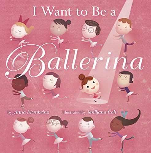 Ballerina Baby Book - I Want to be a Ballerina