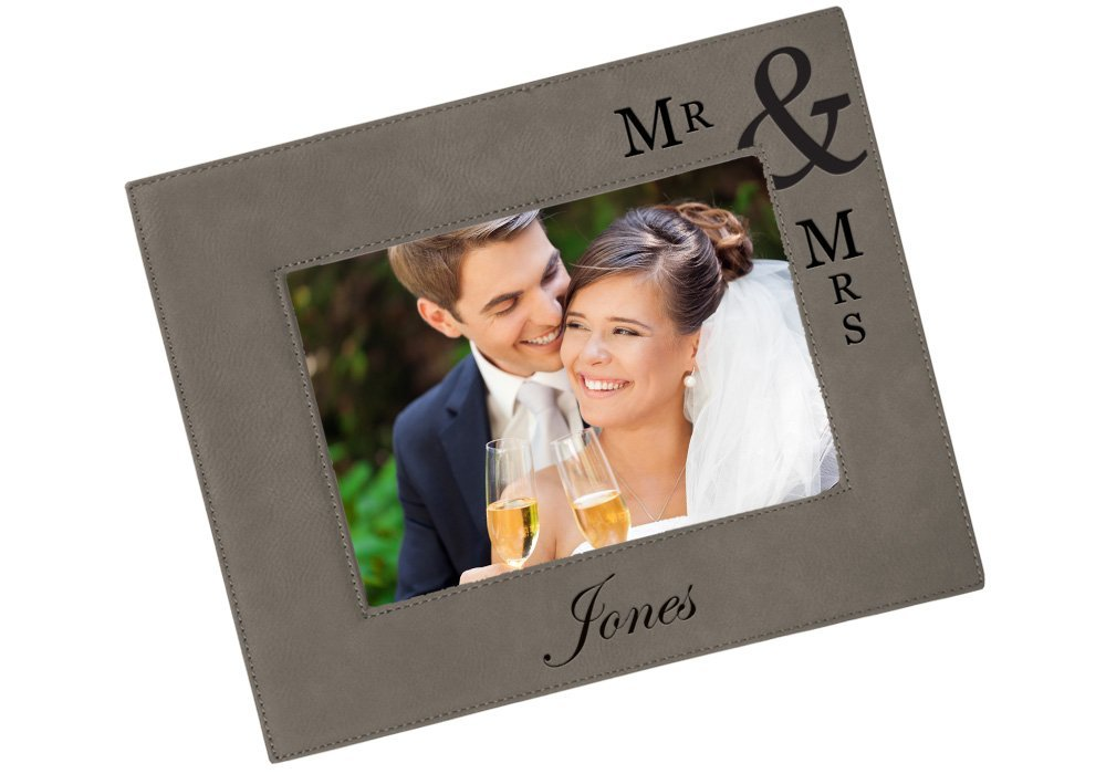 personalized picture frame picture frame Engagement picture frame wedding gift wedding picture frame custom picture frame