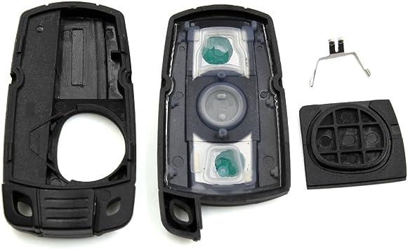 Sourcing Map Schlüssel Gehäuse 3 Tasten Einsatz Fernbedienung Fall Shell Ersatz Für Kr55wk49127 Auto