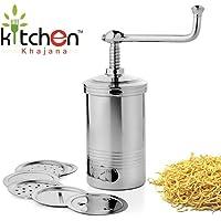 Kitchen Khajana™ Premium Quality Stainless Steel Sev Chakli Gathiya Sevaiya Maker Sancha Machine