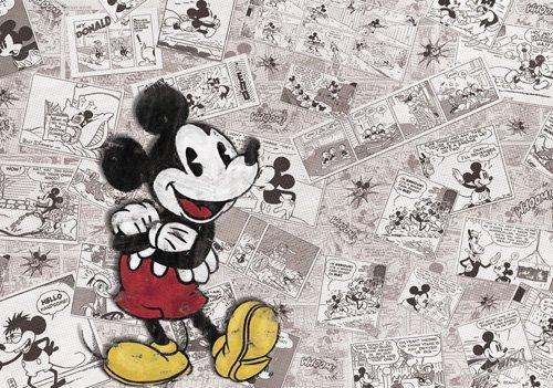 Disney Mickey Mouse - Decorazione per Pareti Vintage cameretta 254x184cm TocTocShop