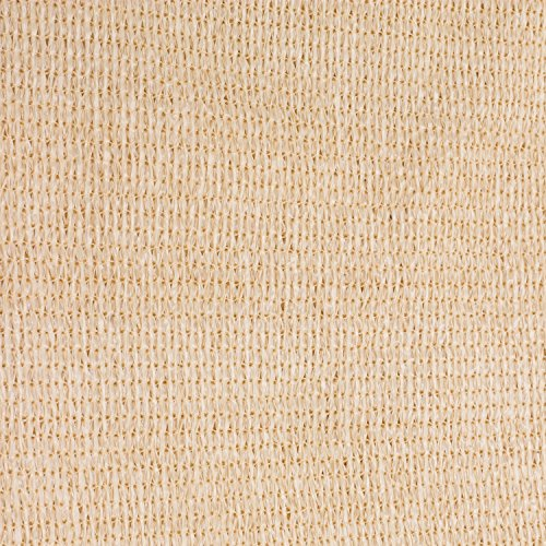 e.share 20' X 20' X 20' Sun Shade Sail Uv Top Outdoor Canopy Patio Lawn Triangle Beige Tan Desert Sand ... by e.share (Image #4)
