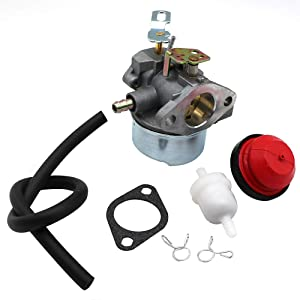 Carburetor For Tecumseh HMSK80 HMSK90 8hp 9hp 10hp LH318SA LH358SA Snow Blower Generator Chipper Shredder 640054 640052 640349 640058 640058A OREGON 50-659 STENS 520-926 Carb with Mounting Gasket