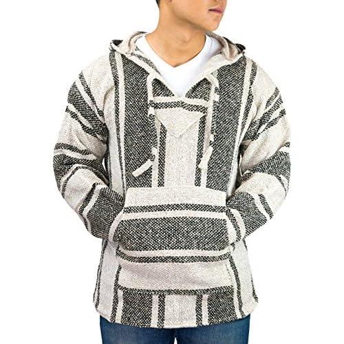 Discount El Paso Designs Unisex Classic Mexican Baja Pullover Hoodie