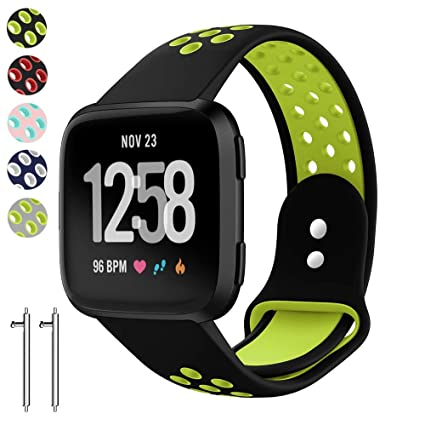 Amazon.com: vtiki para Fitbit Versa bandas Smart Fitness ...