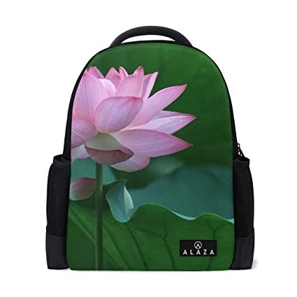 4949ef8d48c5 Image Unavailable. Image not available for. Color  Backpack Best Lotus  Flower Mens Laptop Backpacks ...