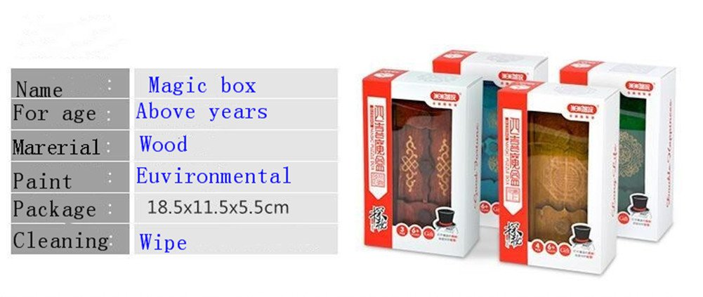 Magic Box Wooden Puzzle Box Special Unique Gift Box by ONE ADD ONE (Image #5)