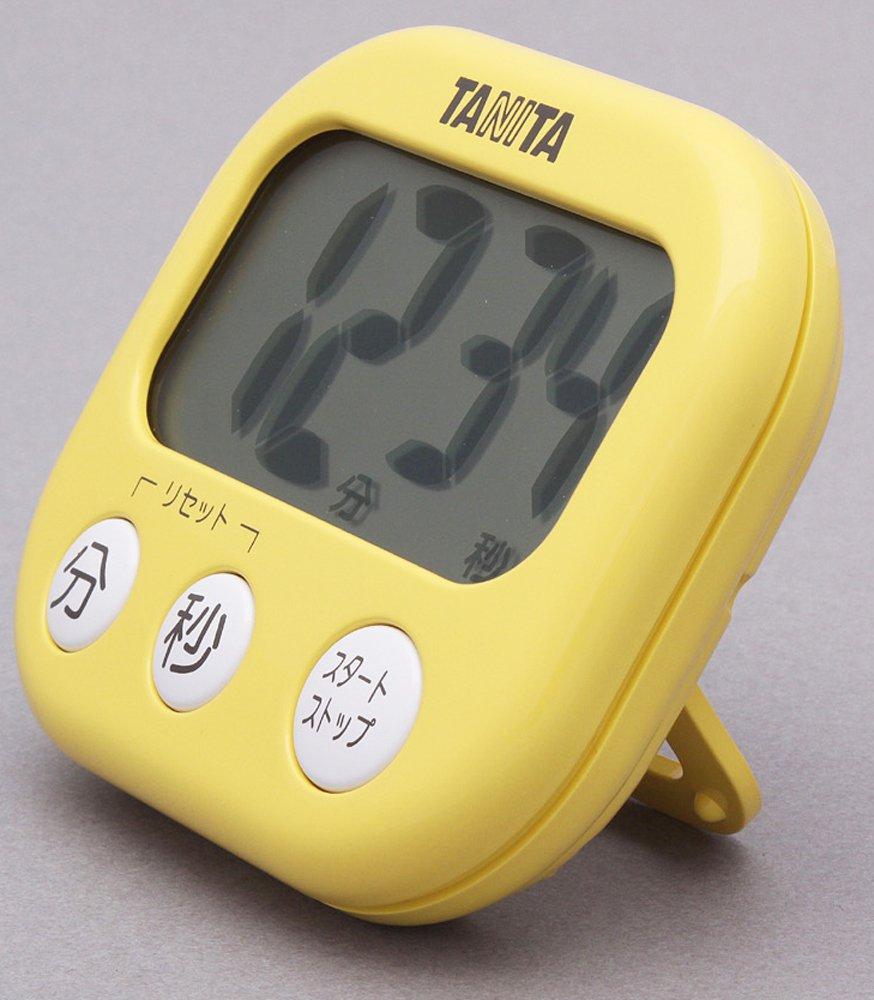 Mango Timer amarilla TD-384-MY visto enorme TANITA (jap?n importaci?n)