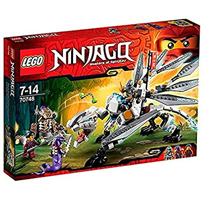 LEGO Ninjago Titanium Dragon 70748: Toys & Games