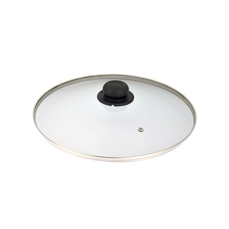 LGVSHOPPING Deckel aus gehärtetem Glas für Topf Pfanne Bratpfanne Kasserolle Durchmesser 26