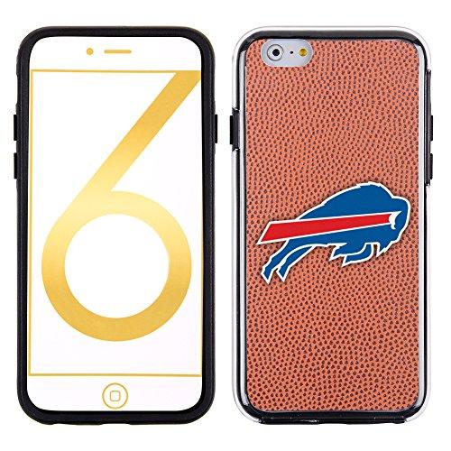 Football Display Case Buffalo (NFL Buffalo Bills Classic Football Pebble Grain Feel No Wordmark iPhone 6 Case, Brown)