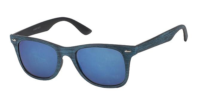 Chic-Net - Gafas de sol - para hombre Nerd blau Talla única ...
